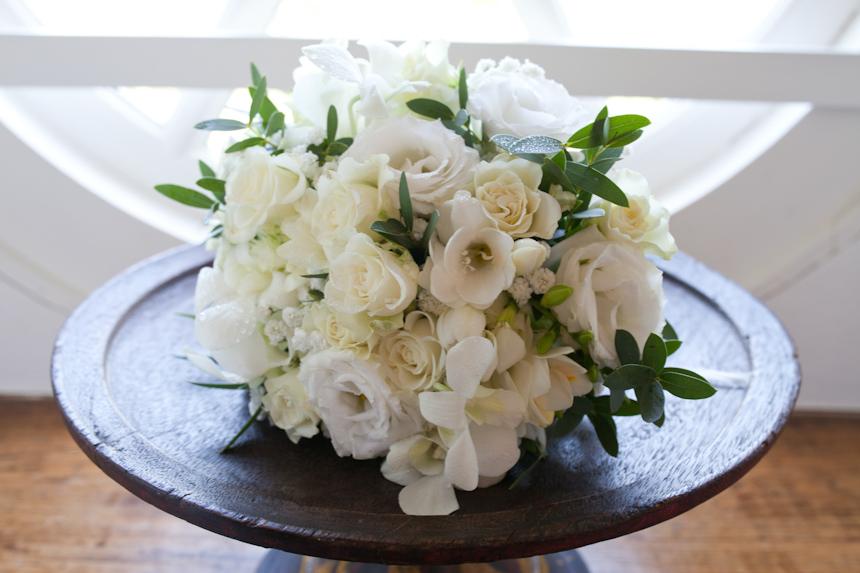 Wasing park - bride's bouquet