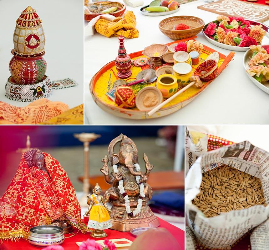 Hindu wedding at Poundon House