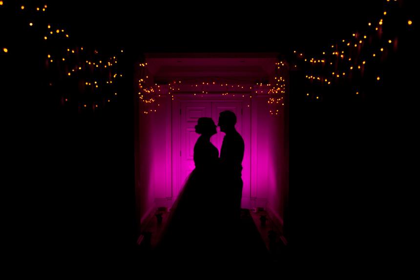 Buxted Park Hotel - Christmas wedding