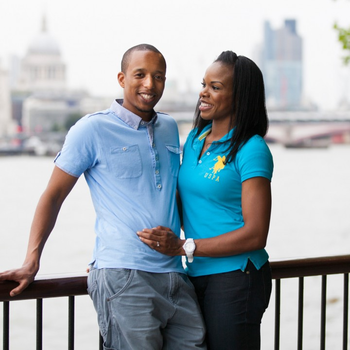 London Engagement Shoot - Mary and Justin