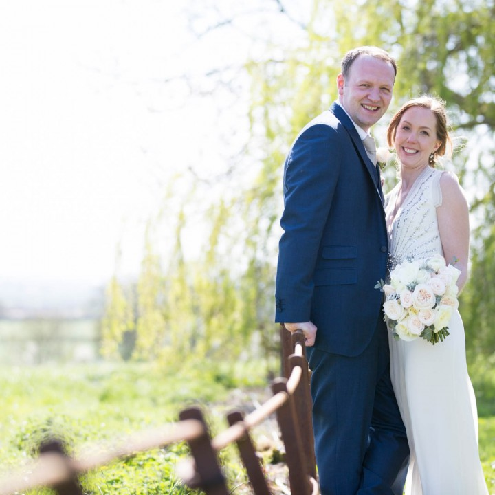 An Intimate Poundon House Wedding - Clare and Chris