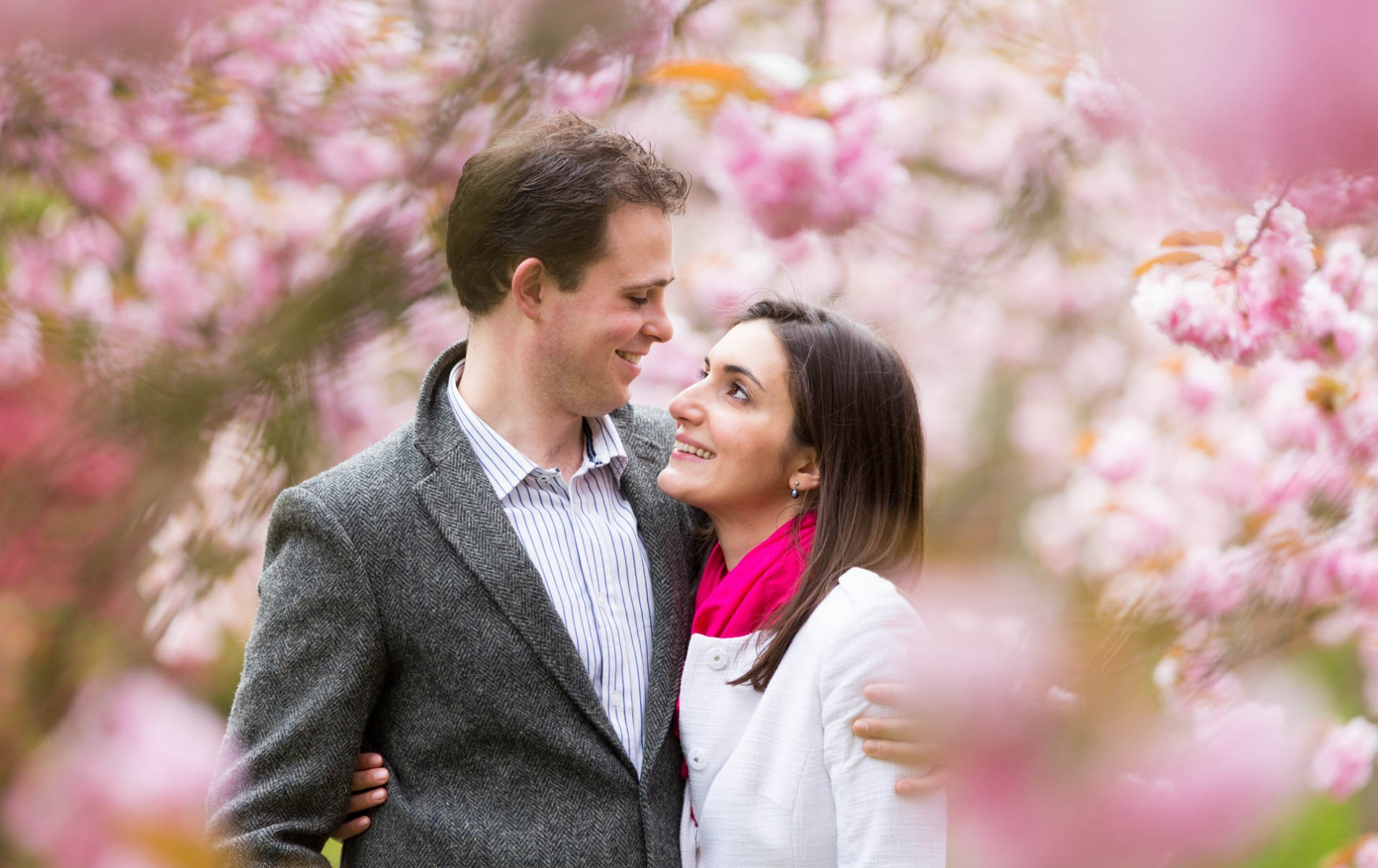 Windsor Great Park Engagement Shoot - Elena and Julian