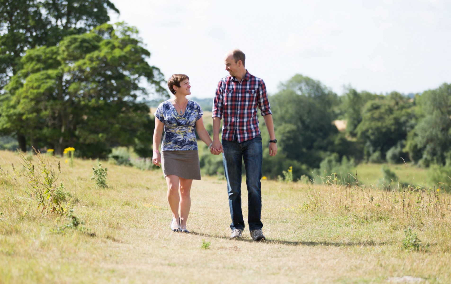 Carolyn and Simon's Oxfordshire Engagement Shoot