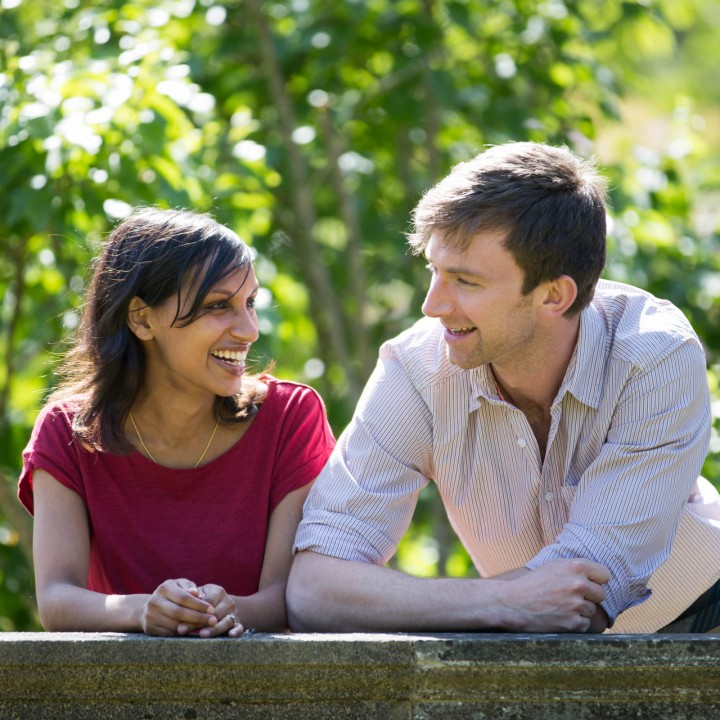 Stoke Poges Engagement Shoot - Nehal and Rob