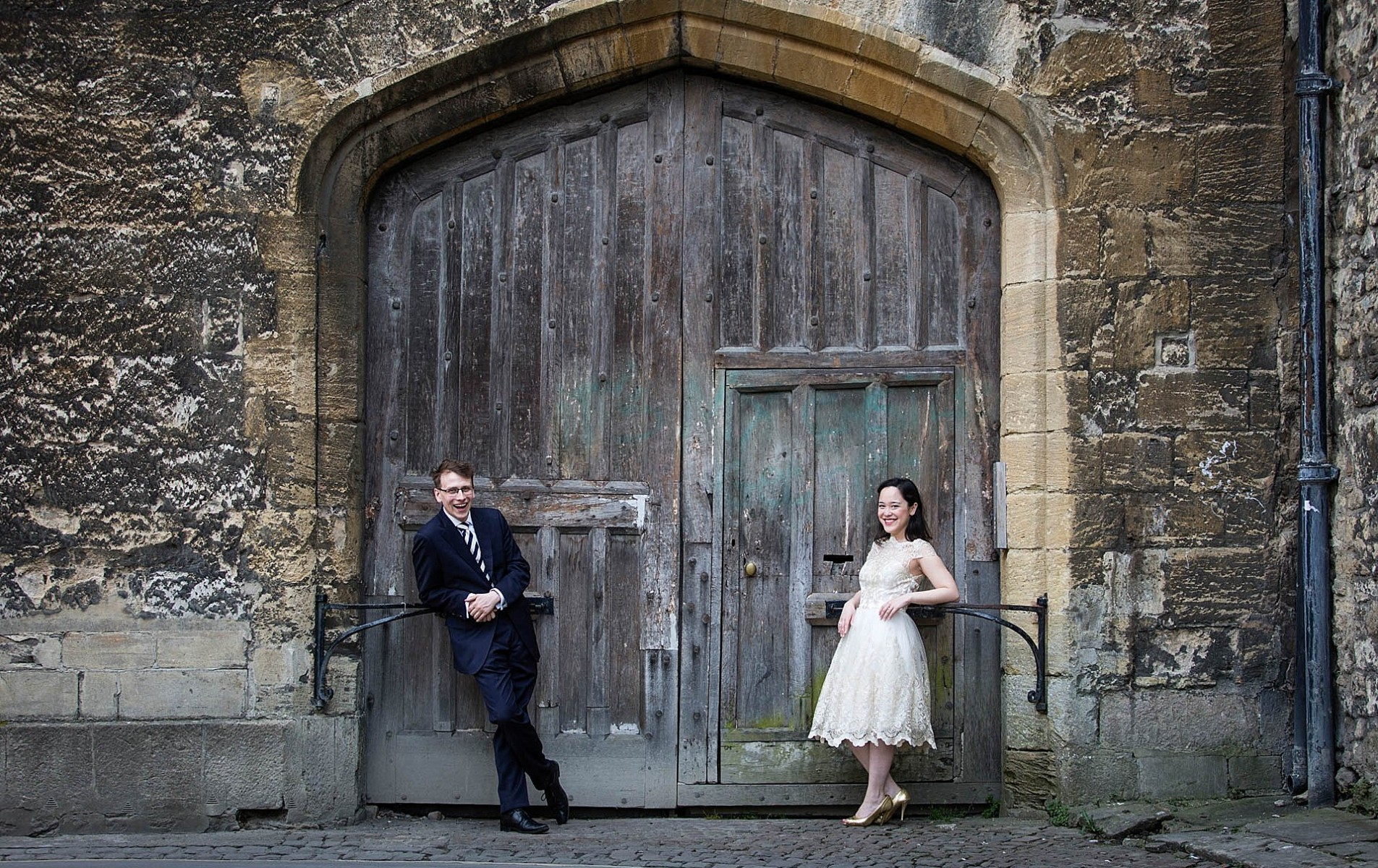 Jennifer and Jonathan's Oxford Engagement Shoot