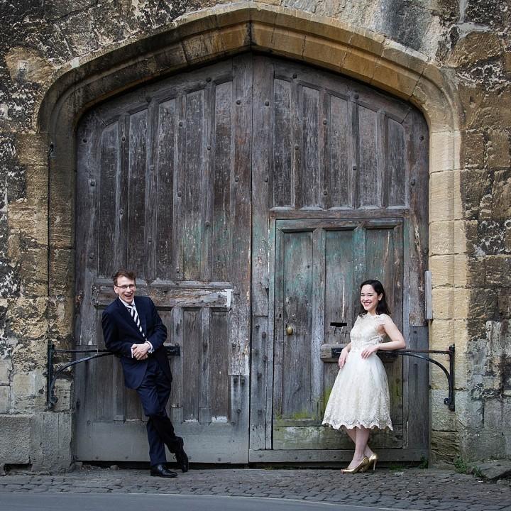 Jennifer and Jonathan's Oxford Engagement Shoot
