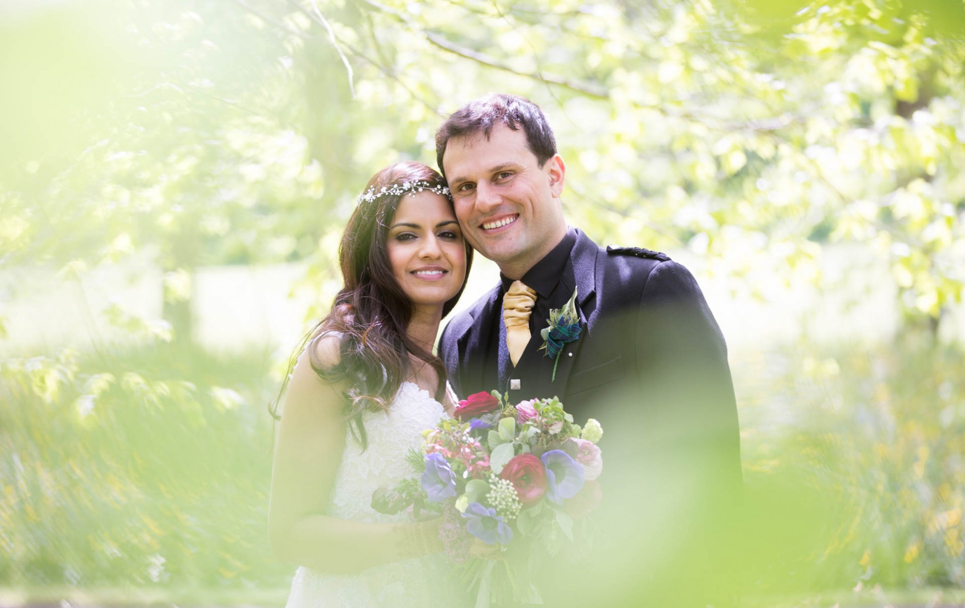 Scottish Hindu Fusion Wedding - Highlights Slideshow - Nimi and Vineet