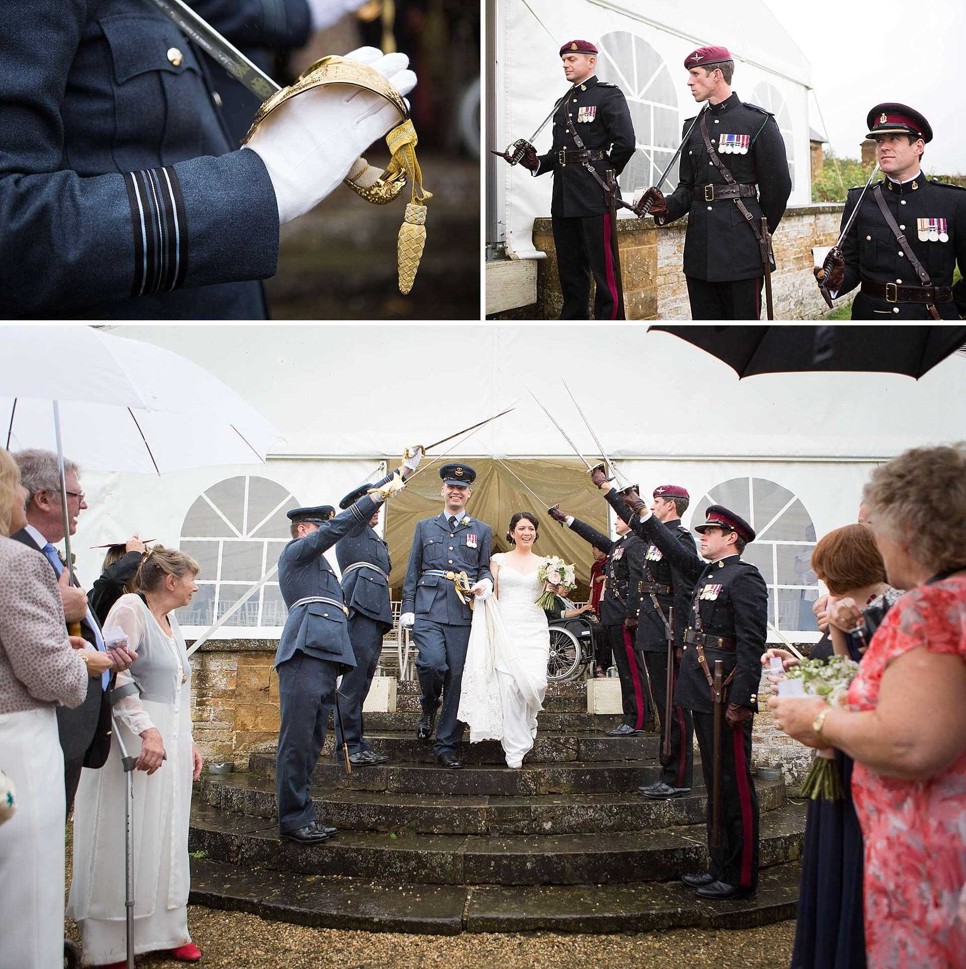 Oxfordshire RAF wedding