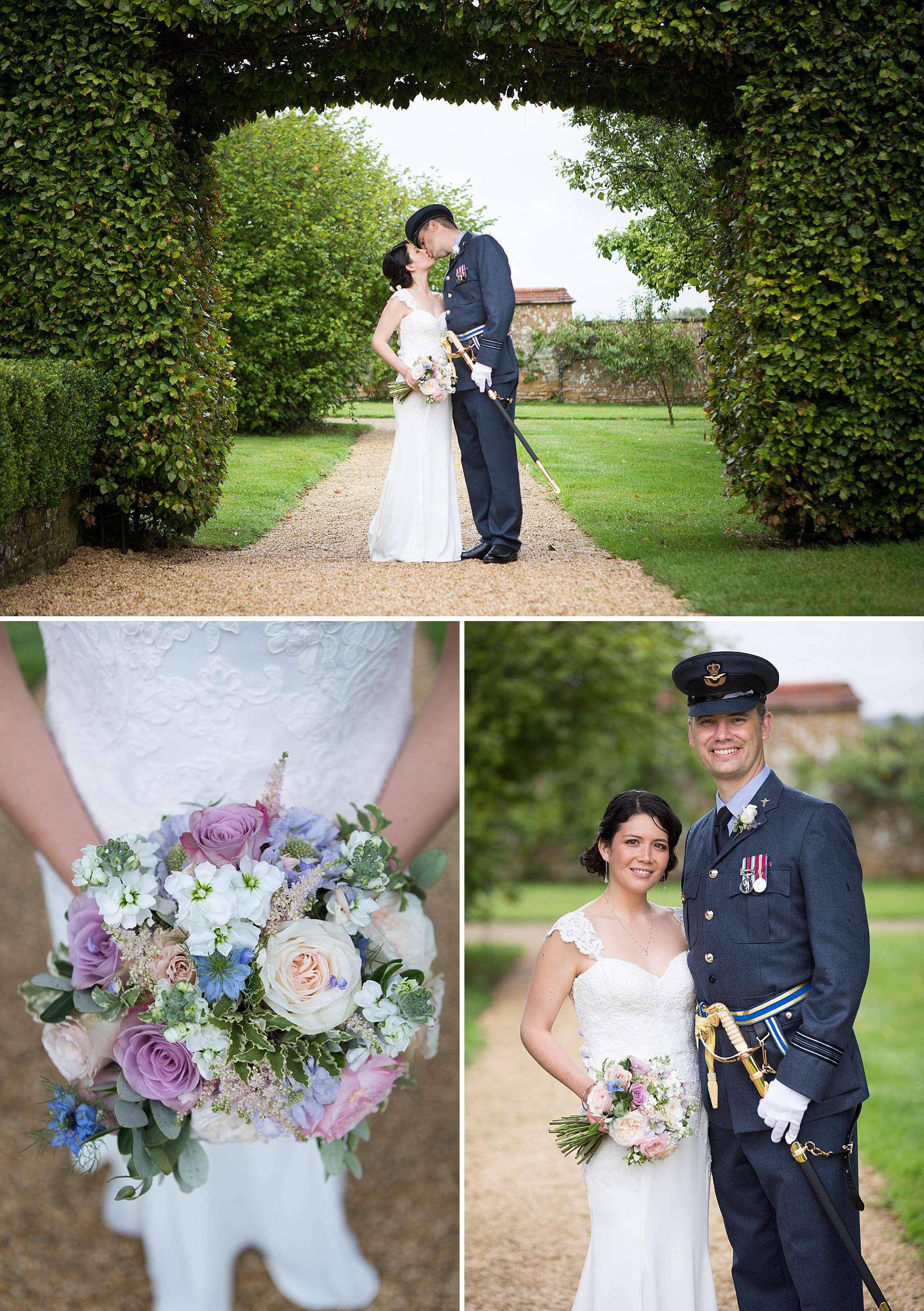 Poundon House wedding portraits