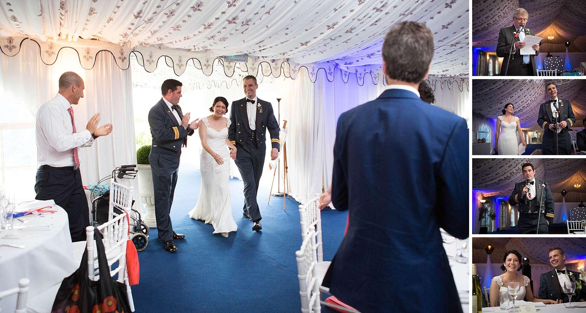 Poundon House - wedding speeches