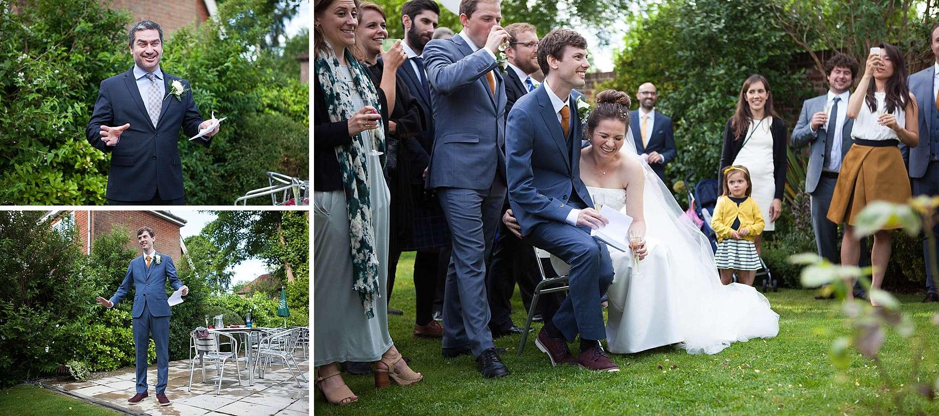 Elyse and Allan's wedding