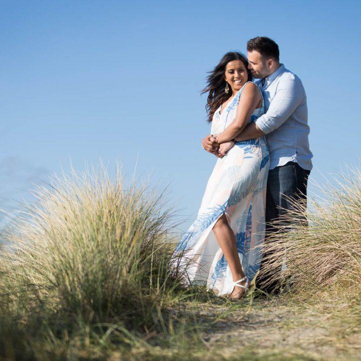 West Wittering Engagement Shoot - Niroosha and Matthew