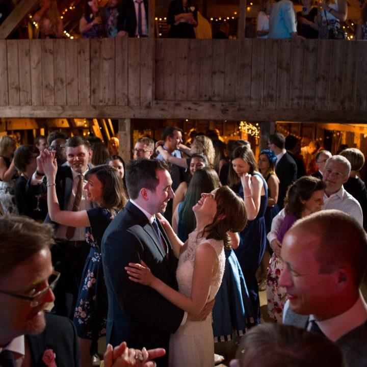 Jenny and Matt - Stokes Farm Barn Wedding