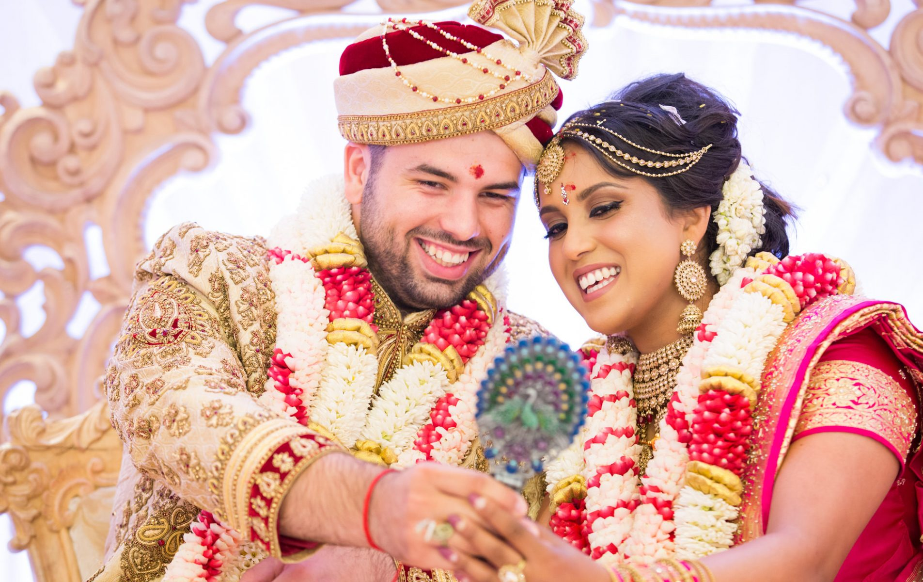 Niroosha and Matthew - Oshwal Centre Hindu Wedding