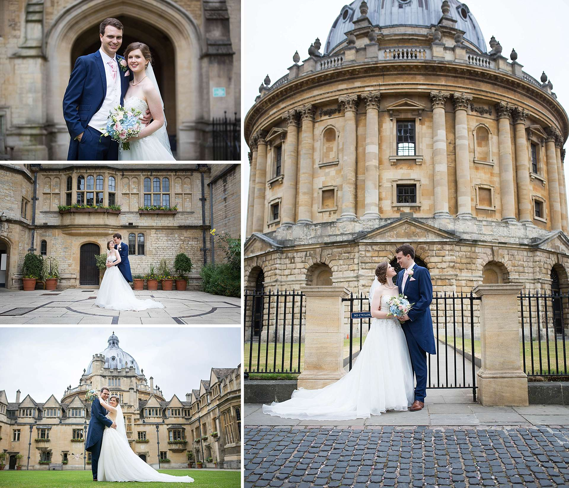 Brasenose College Wedding Portraits