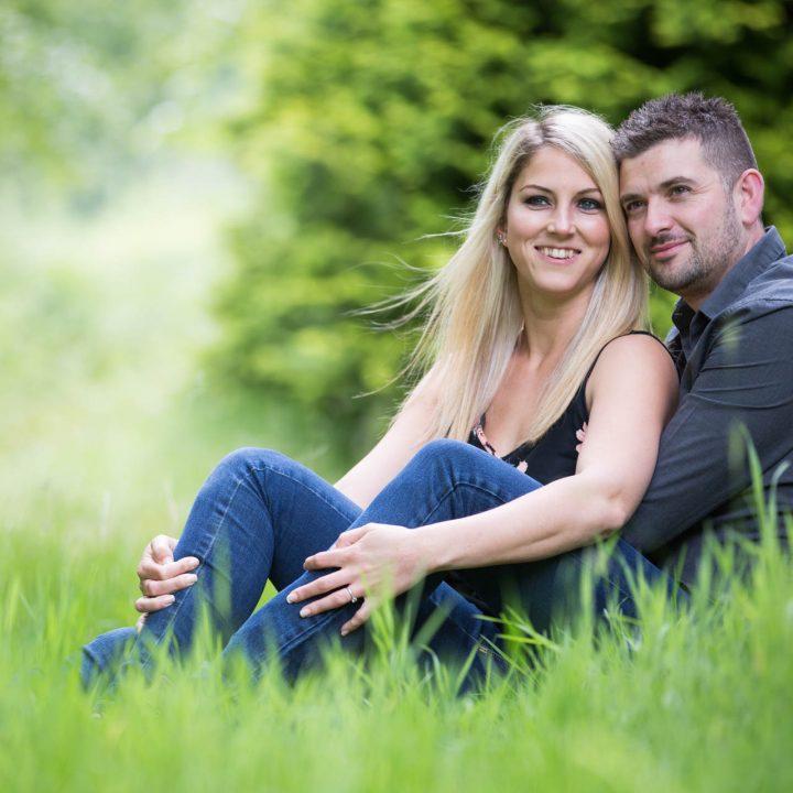 Sophie and Steve's Virginia Water Pre Wedding Shoot