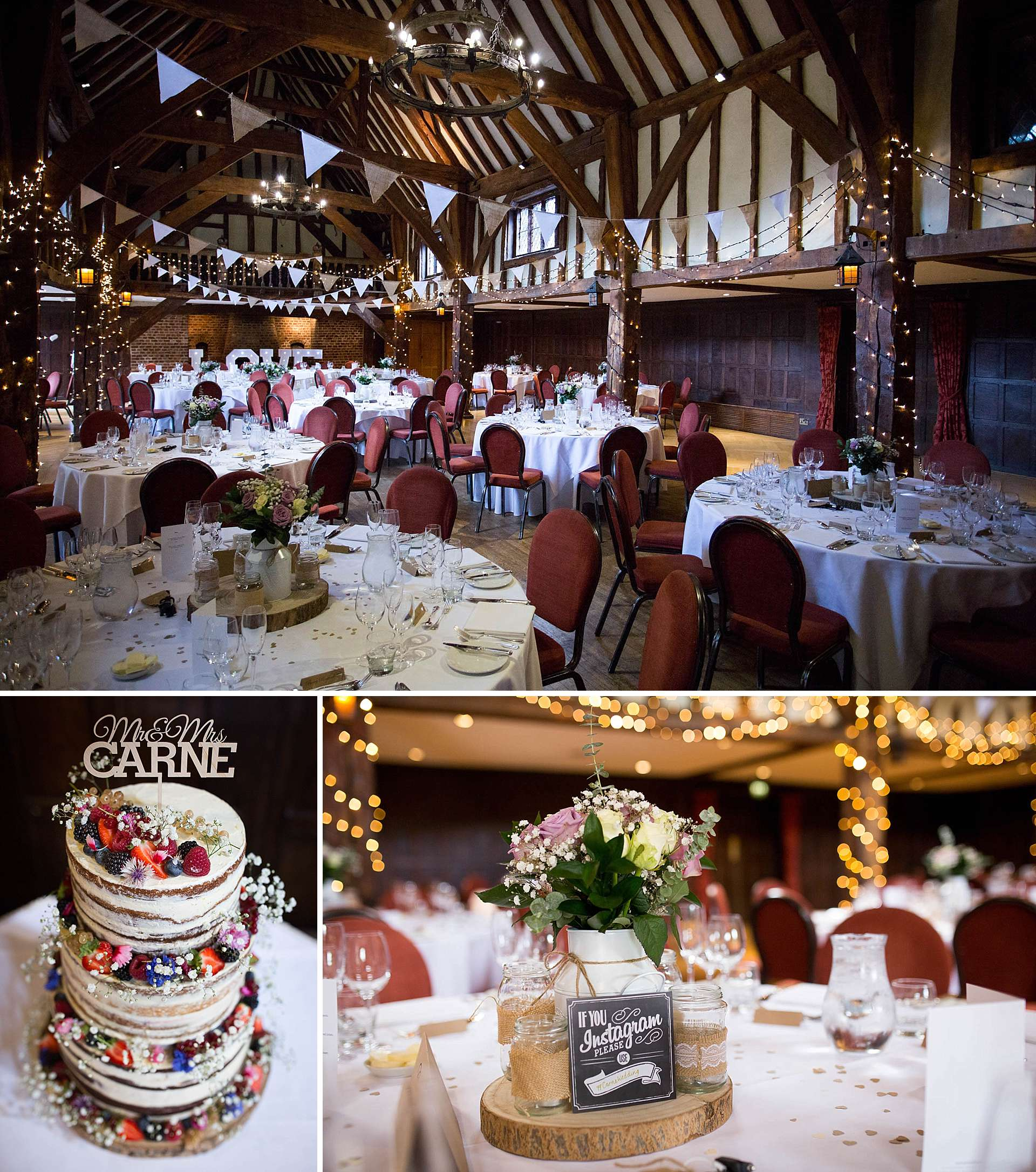 Tithe Barn, Great Fosters