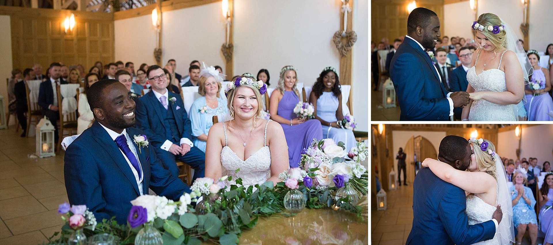 Surrey documentary wedding photographer