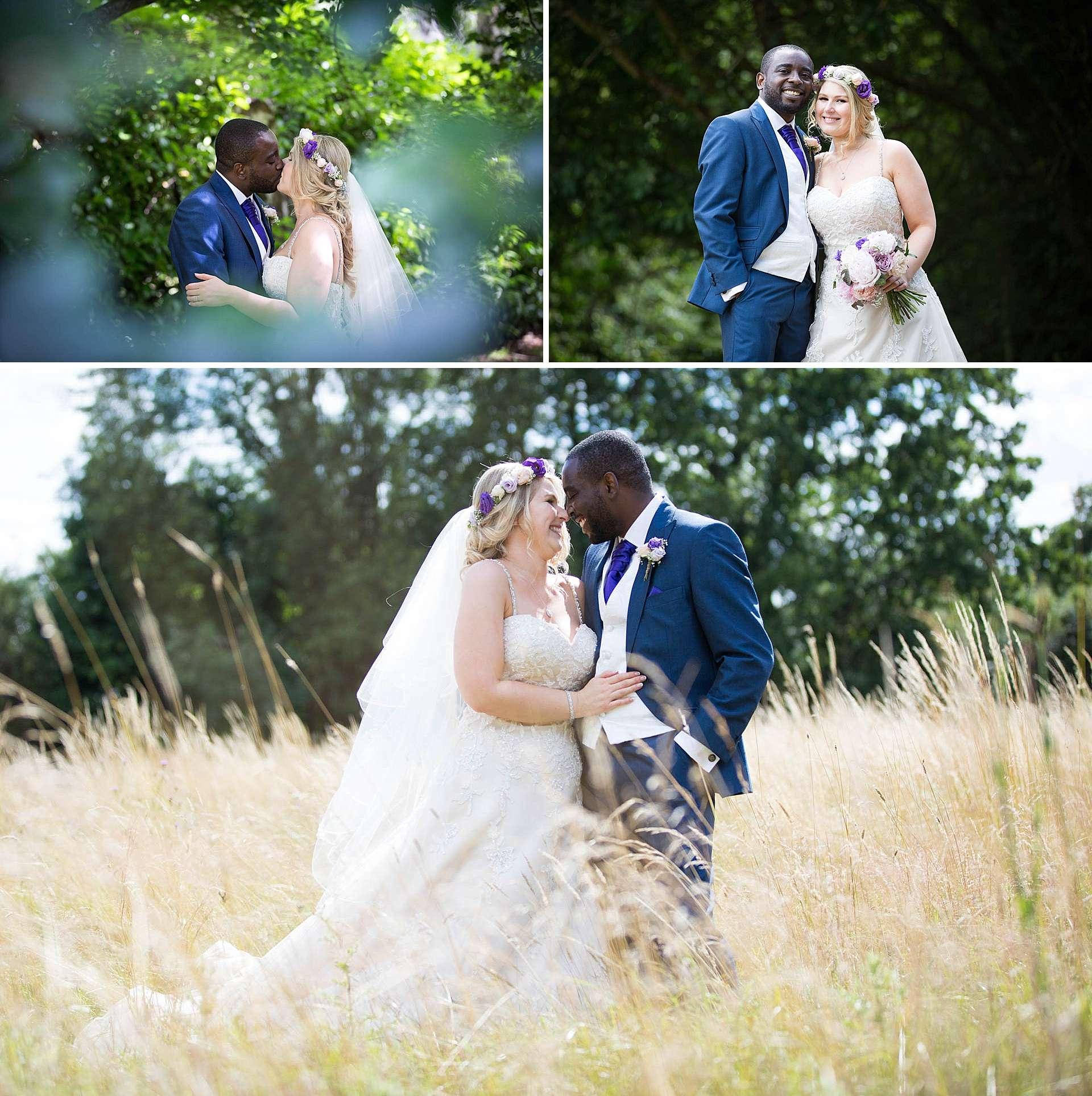Rivervale Barn wedding portraits