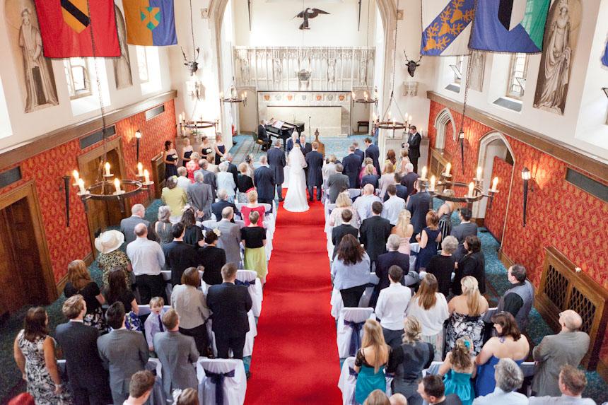 Unobtrusive documentary wedding photographer
