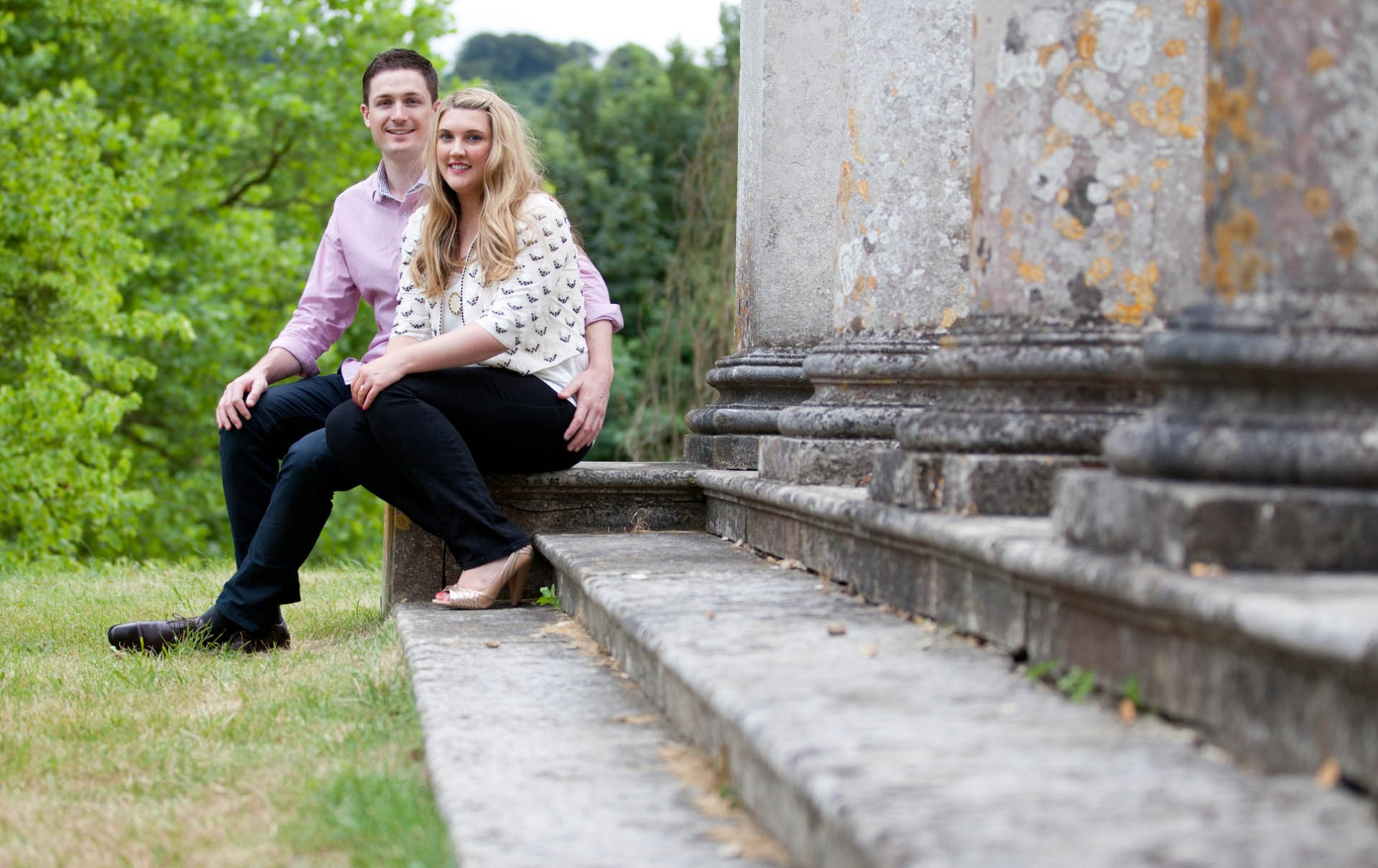 Berkshire Wedding Photographer - Emma and Tom's Engagement Shoot