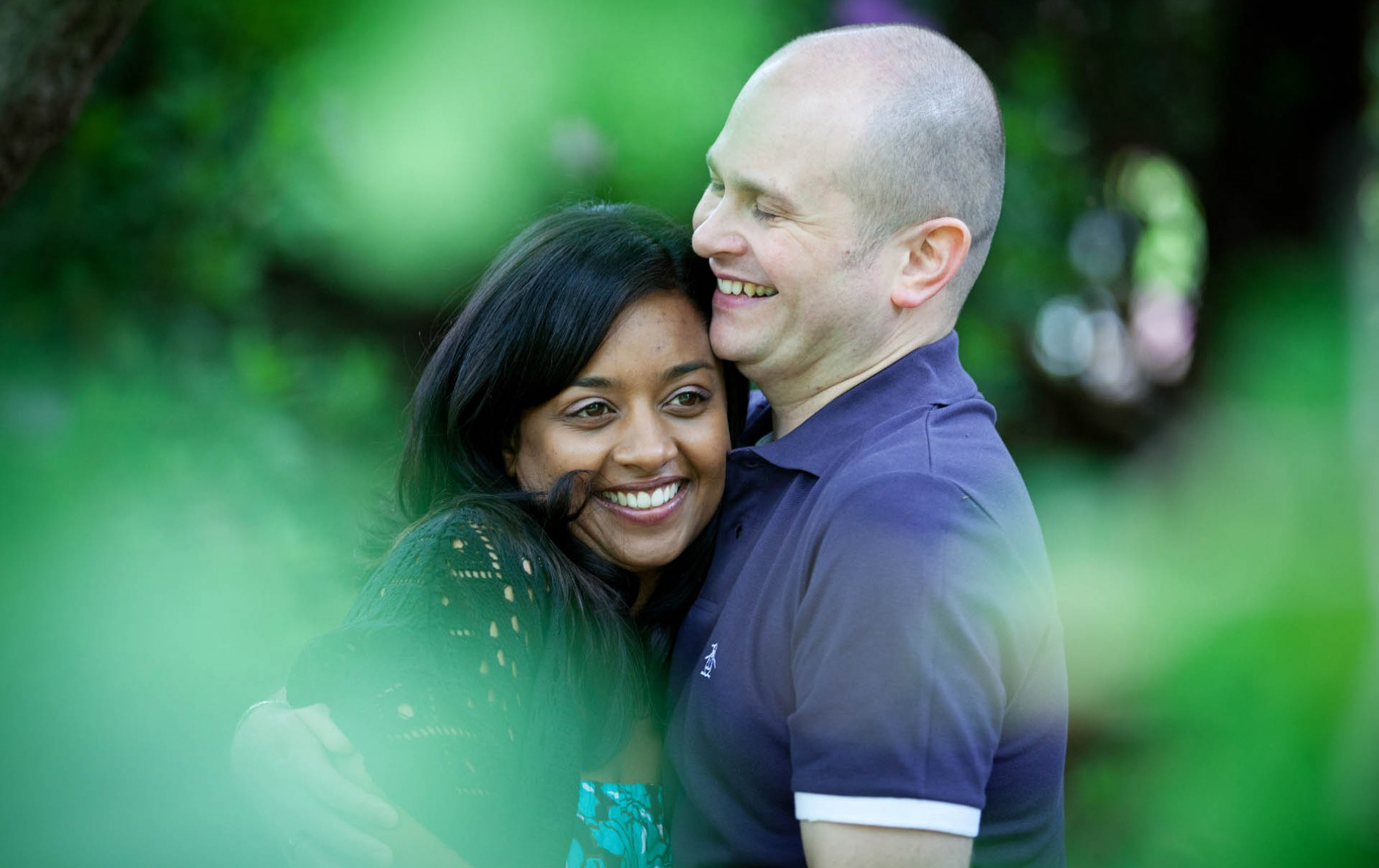 Wasing Park Wedding Photographer - Virginia Water Engagement Shoot