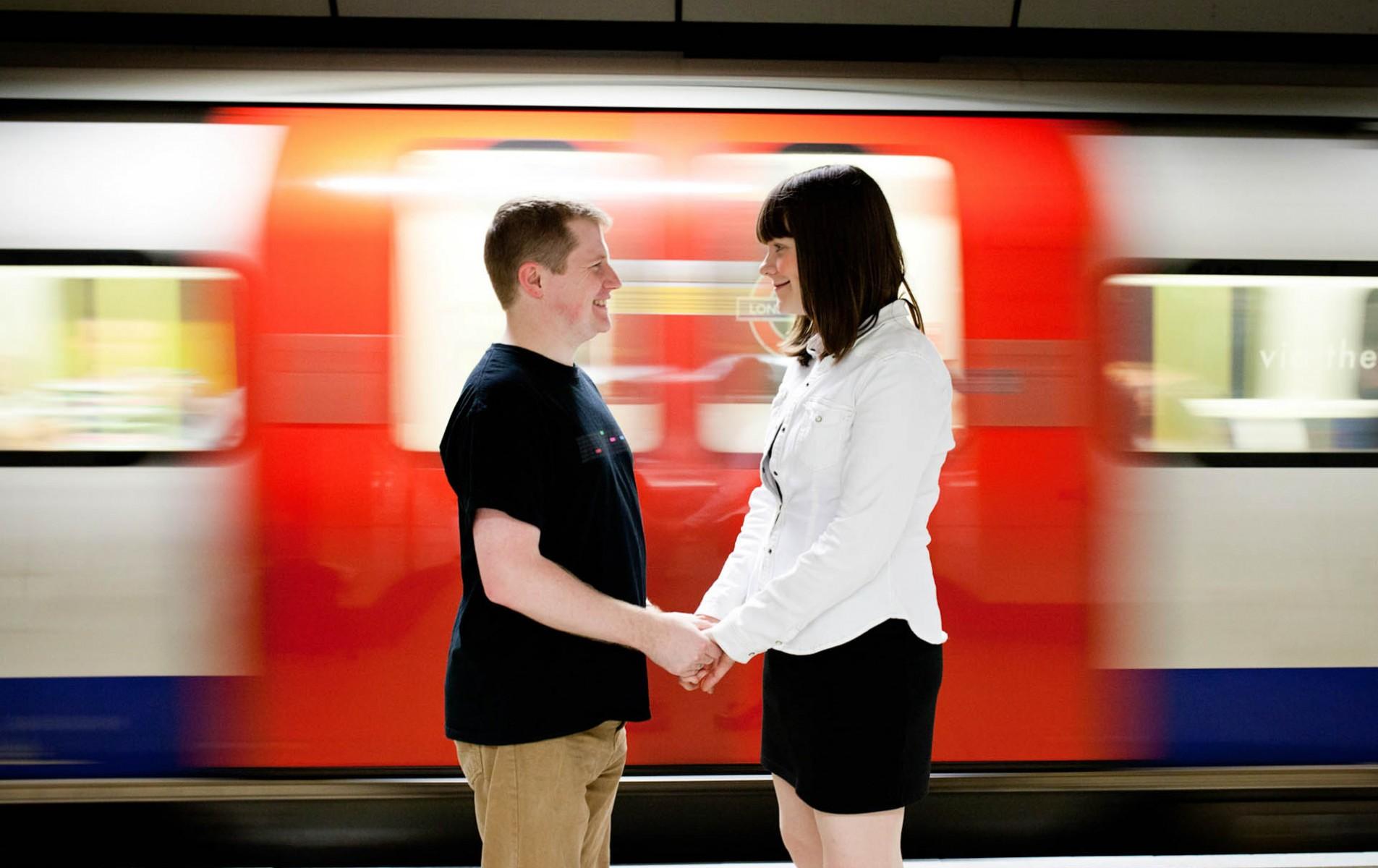 Surrey wedding photographer - Sarah and Richard's Engagement Shoot