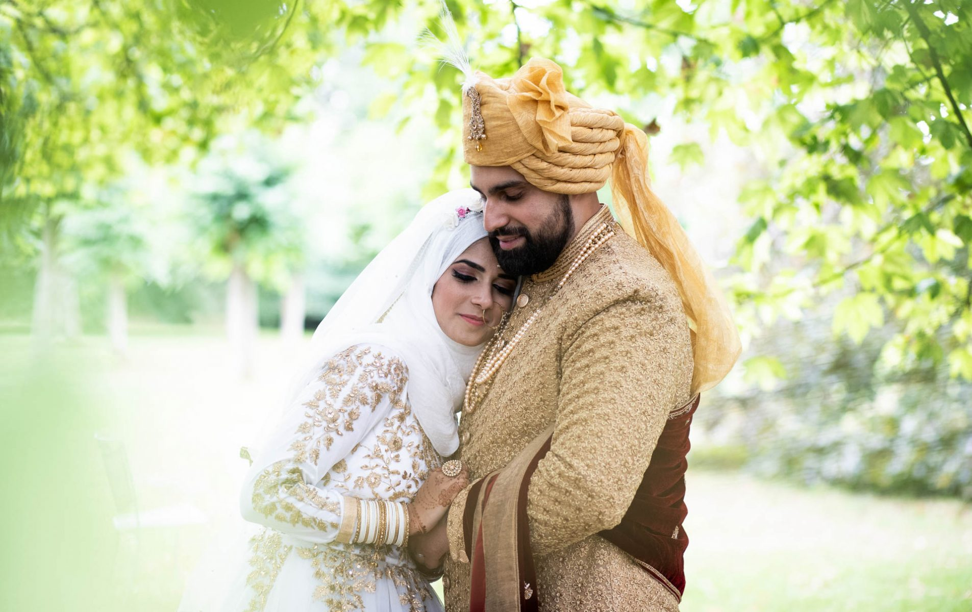 Poundon House Indian Muslim Wedding - Farnaz and Assan