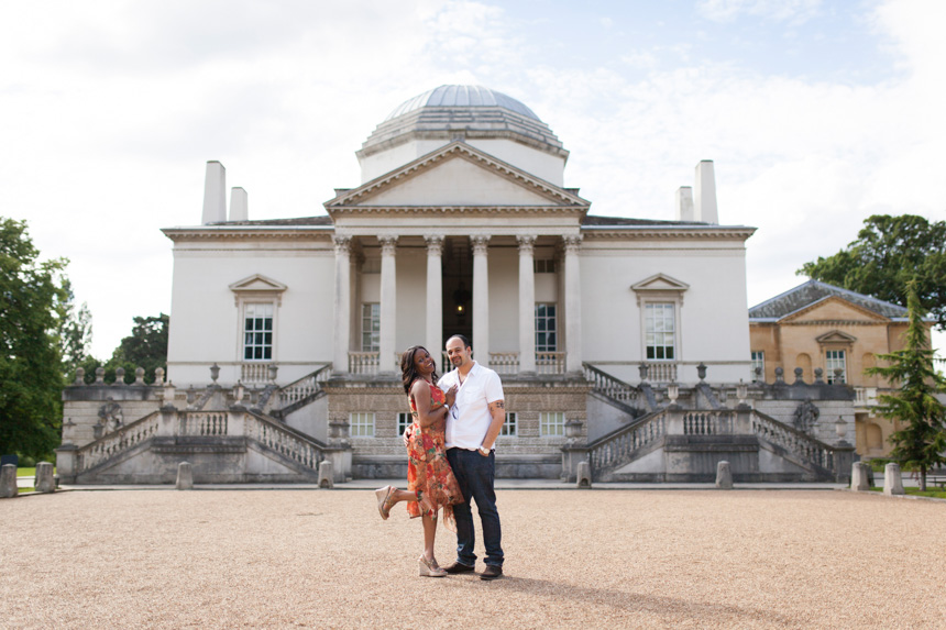 Chiswick House Engagement Shoot