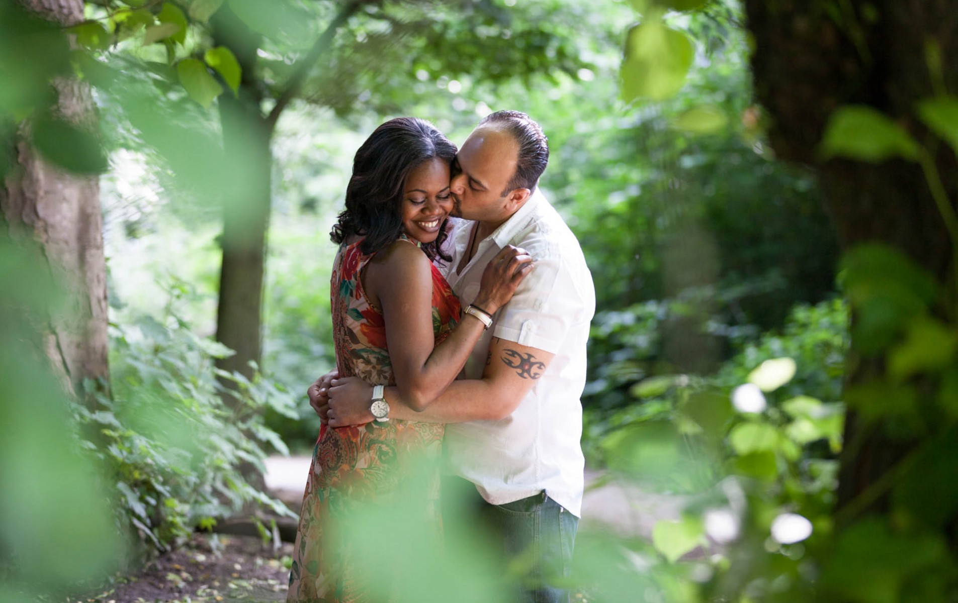 Chiswick House Engagement Shoot - Nene and Arash
