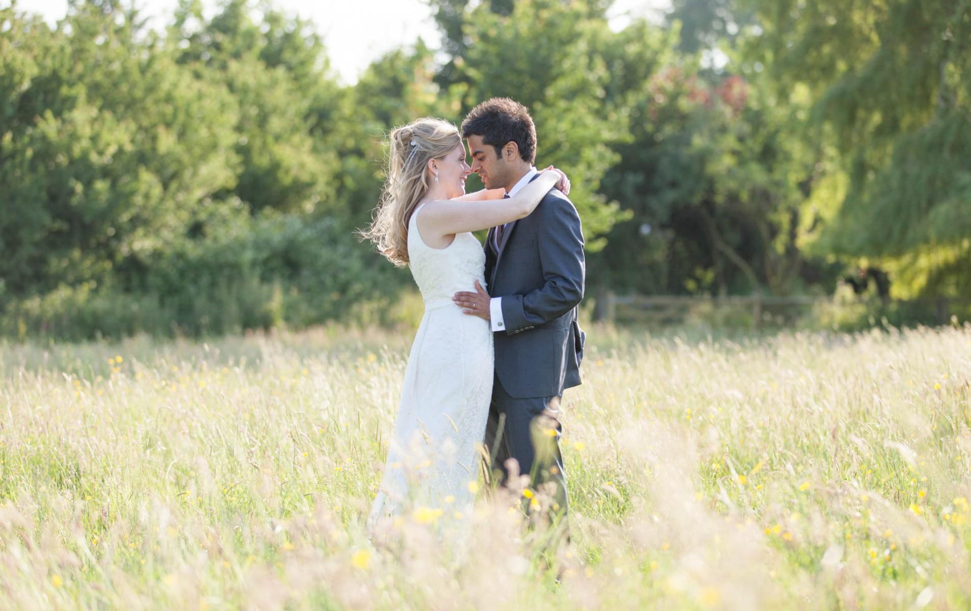 Sarah and Dipesh's Poundon House Fusion Wedding