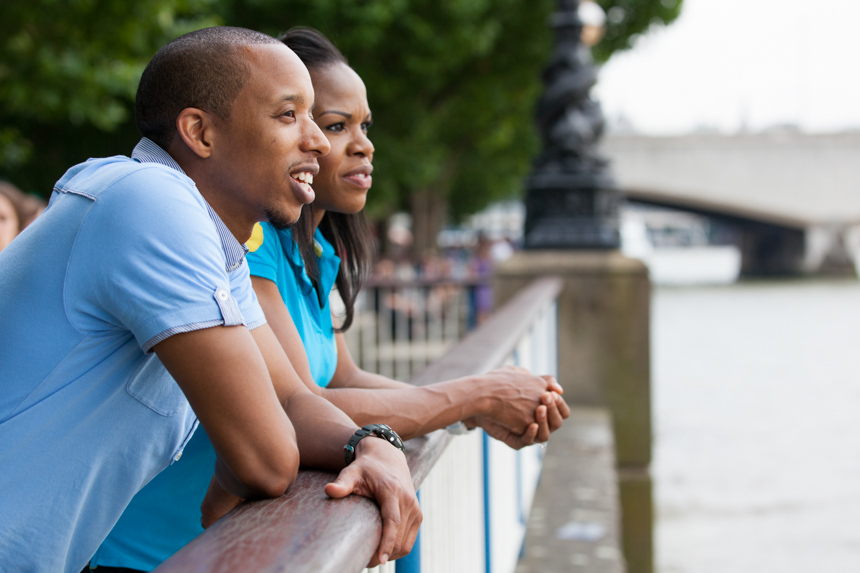 South Bank engagement photographer