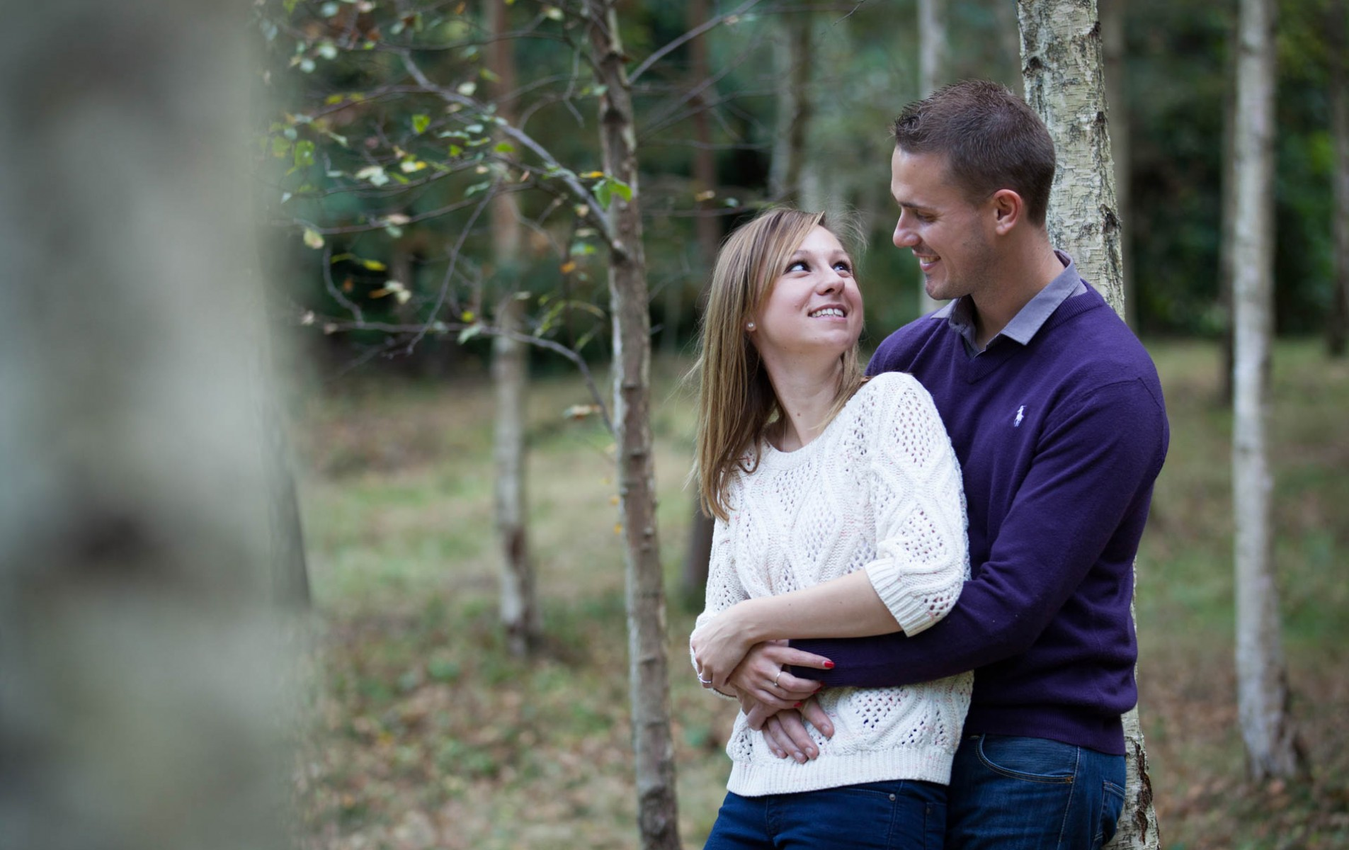 Virginia Water Engagement Shoot - Kirsty and Ian