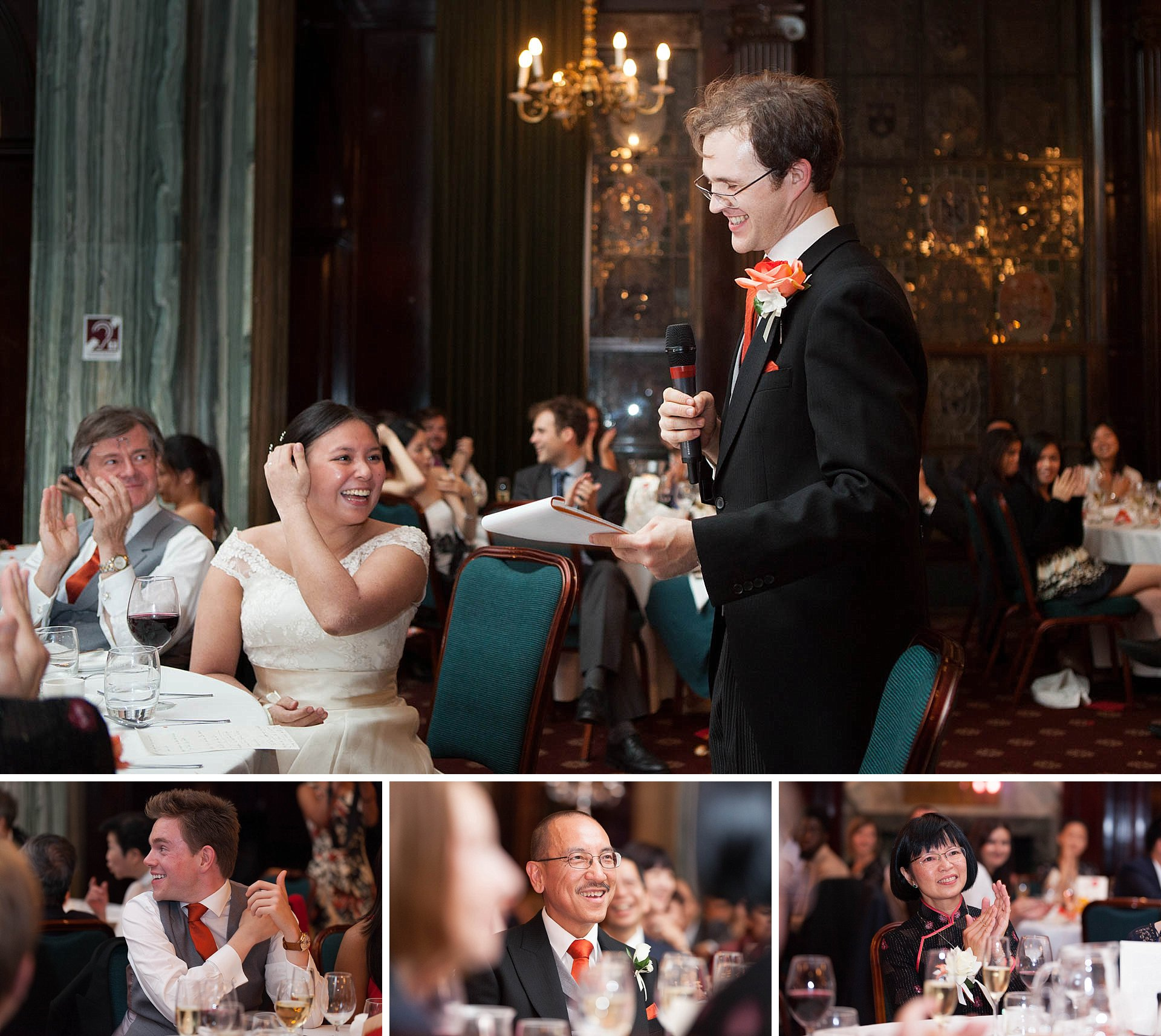 Wedding speeches at The Law Society