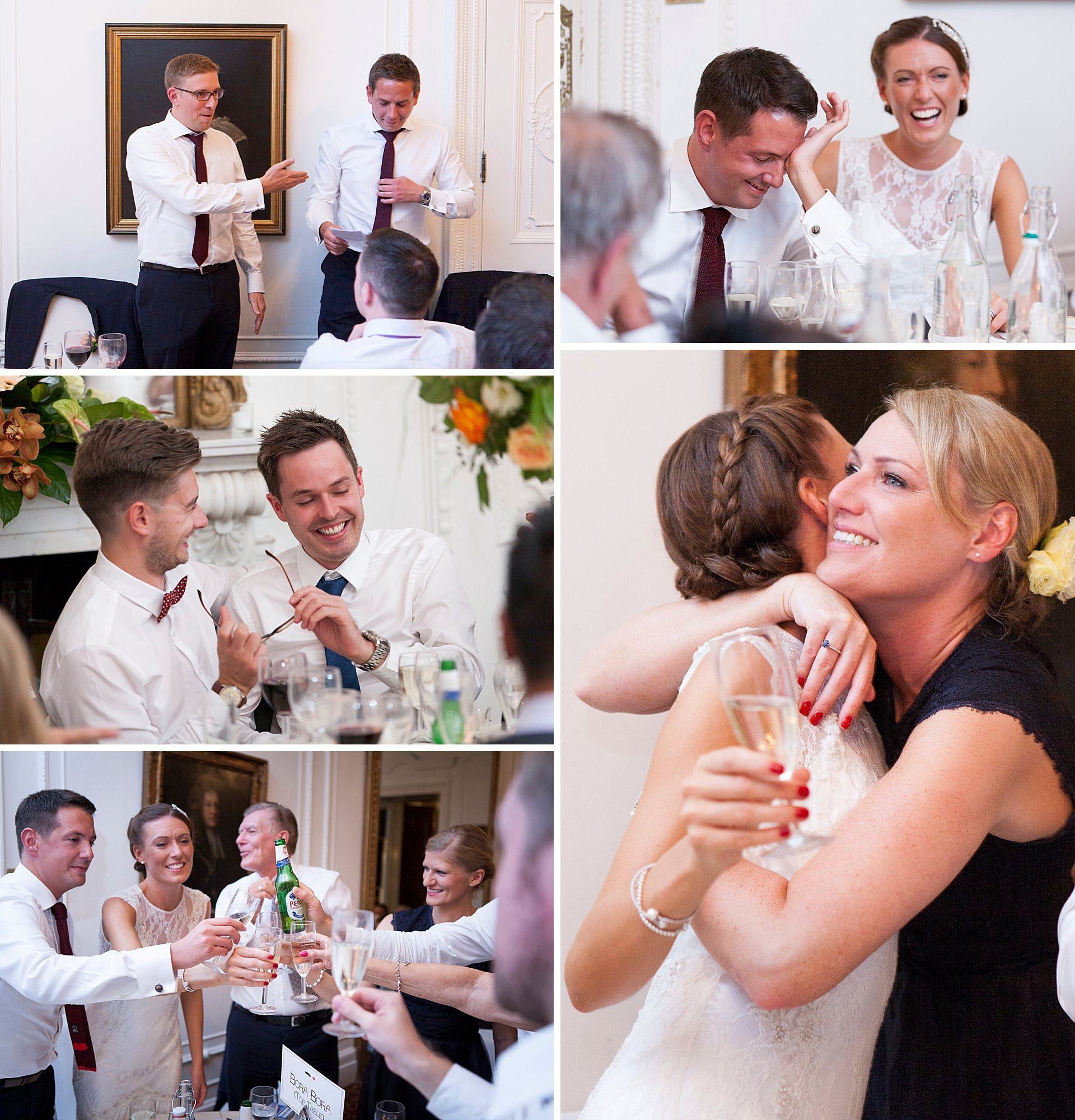 Speeches at Taplow House Hotel Wedding