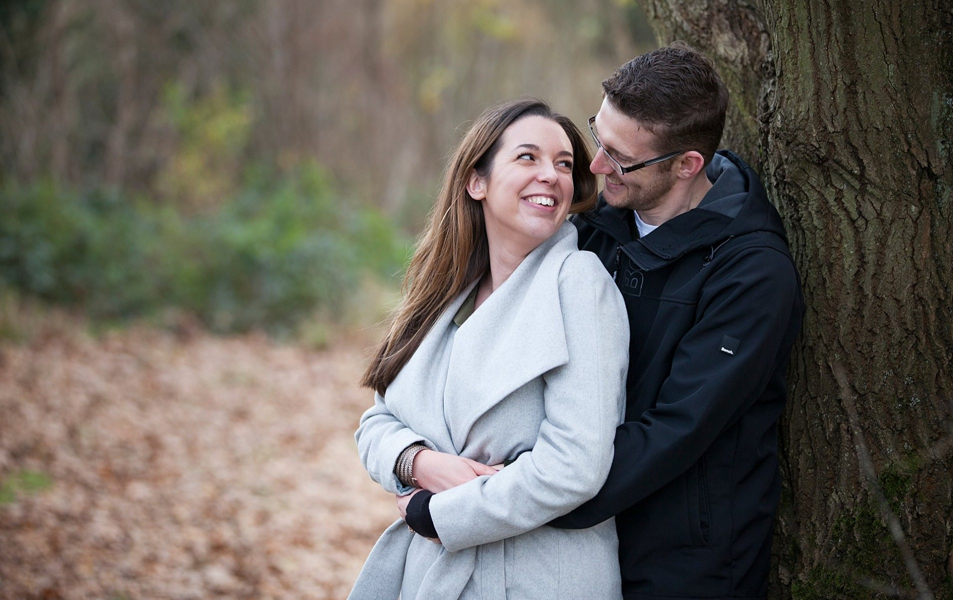 Christmas Engagement Shoot - Caroline and Chris