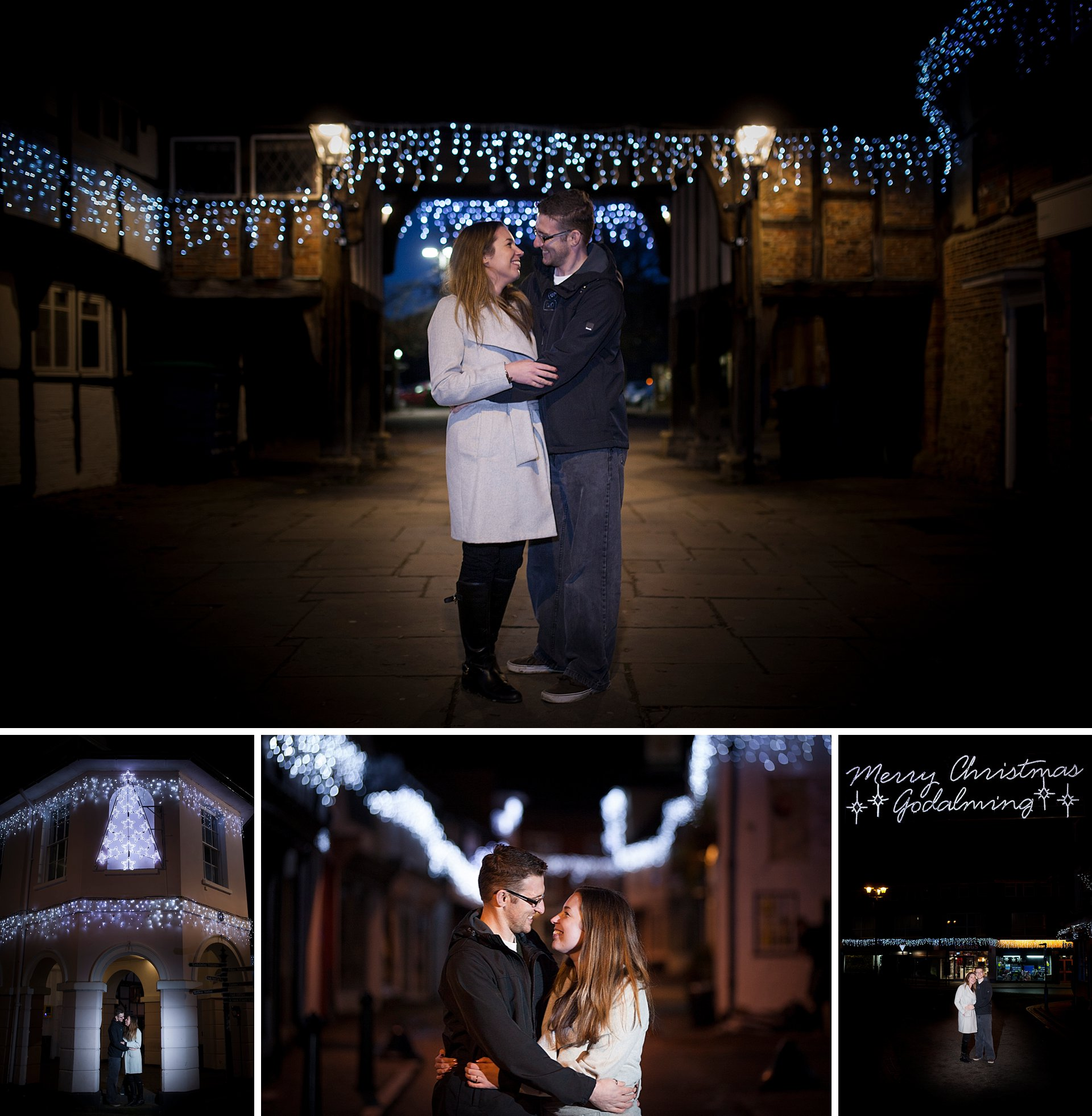 Godalming Christmas Engagement Shoot