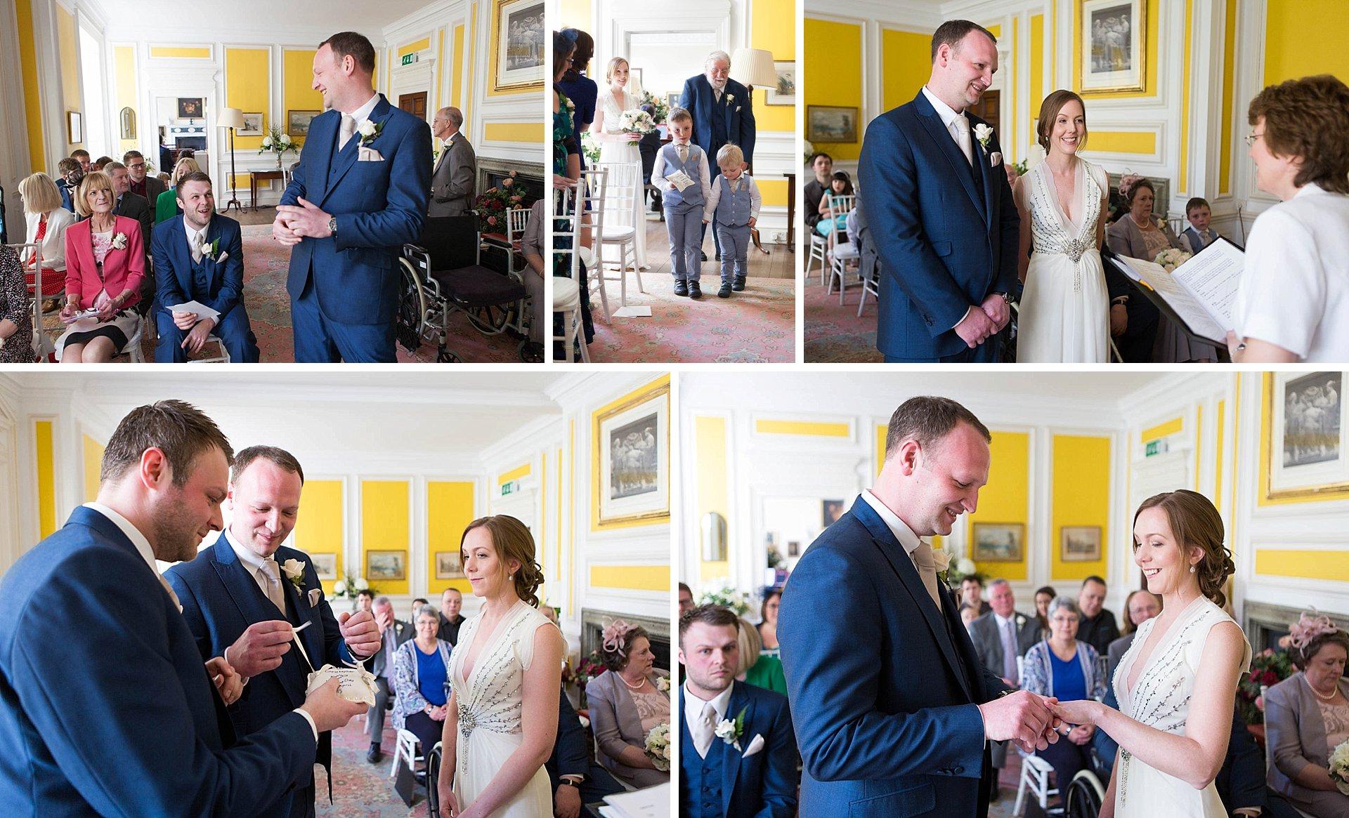 Intimate Poundon House Wedding