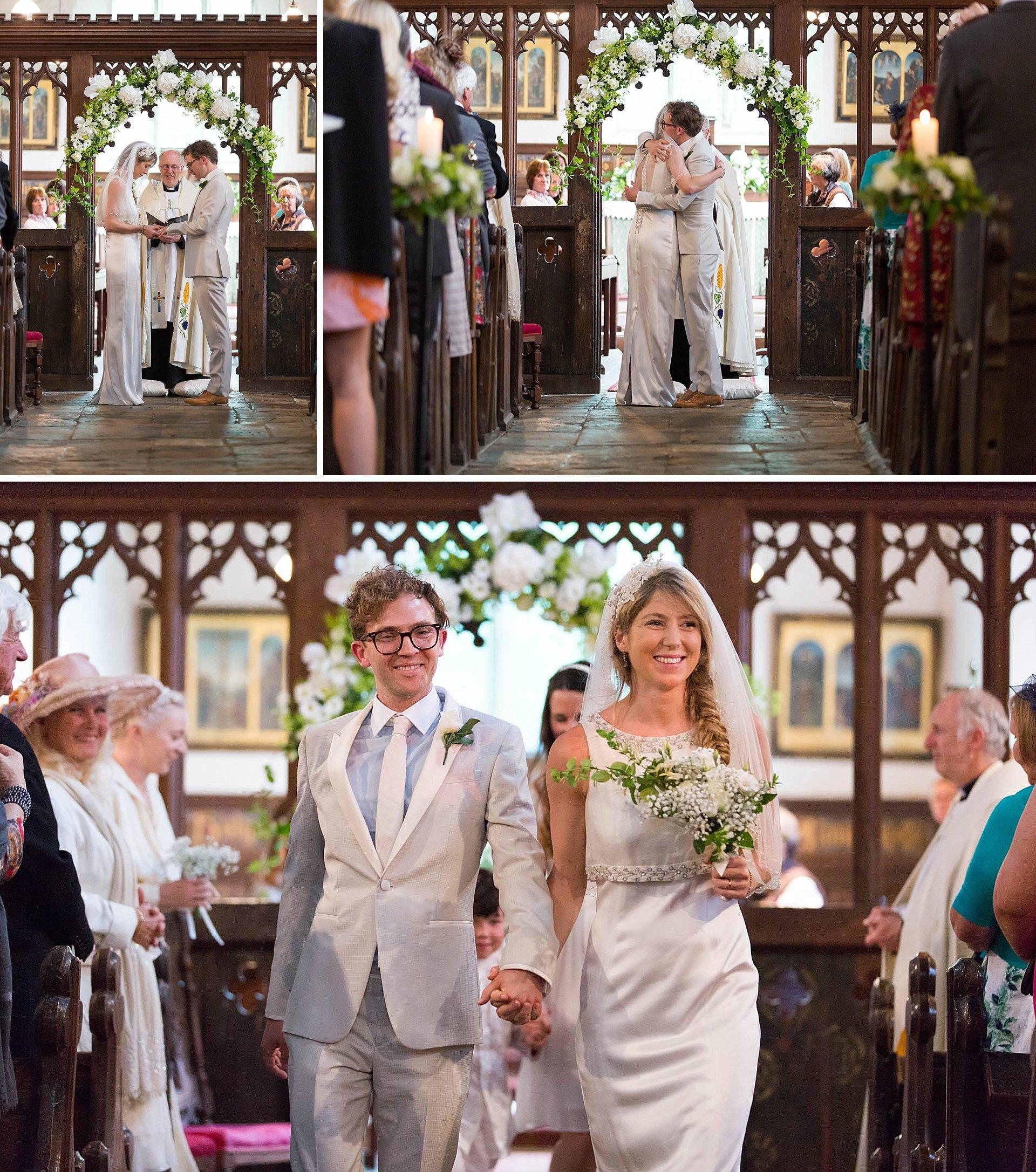 Alicia and Matthew's Poundon House wedding