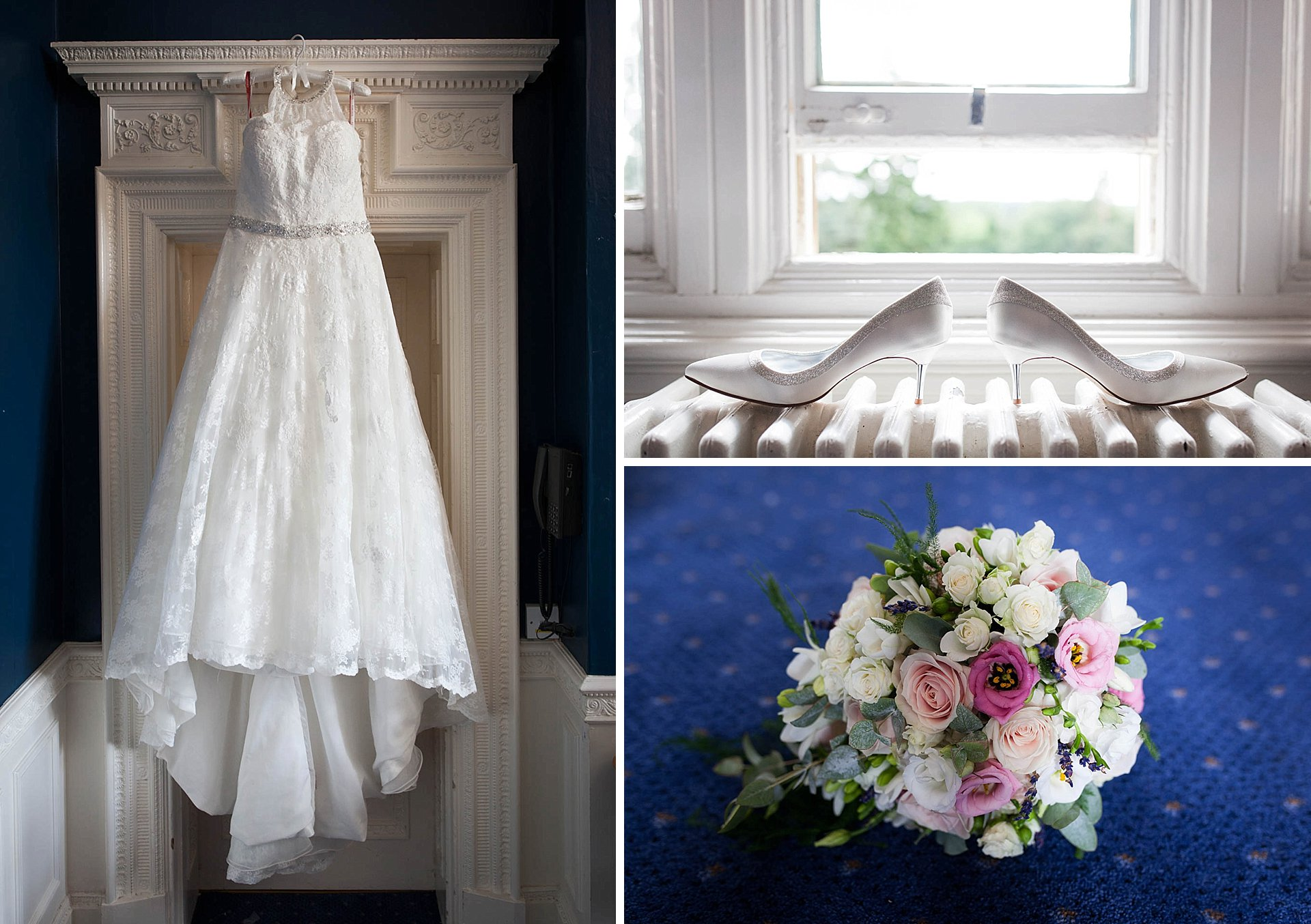 Easthampstead Park bridal details