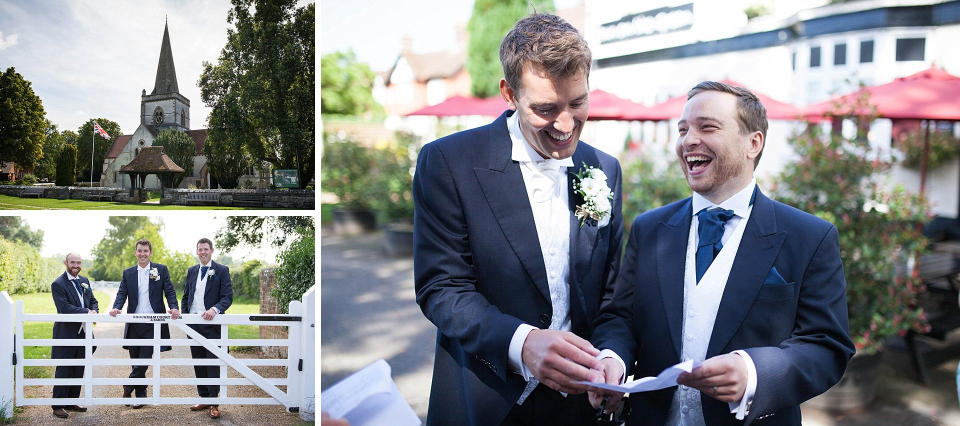 Brockham Green Wedding