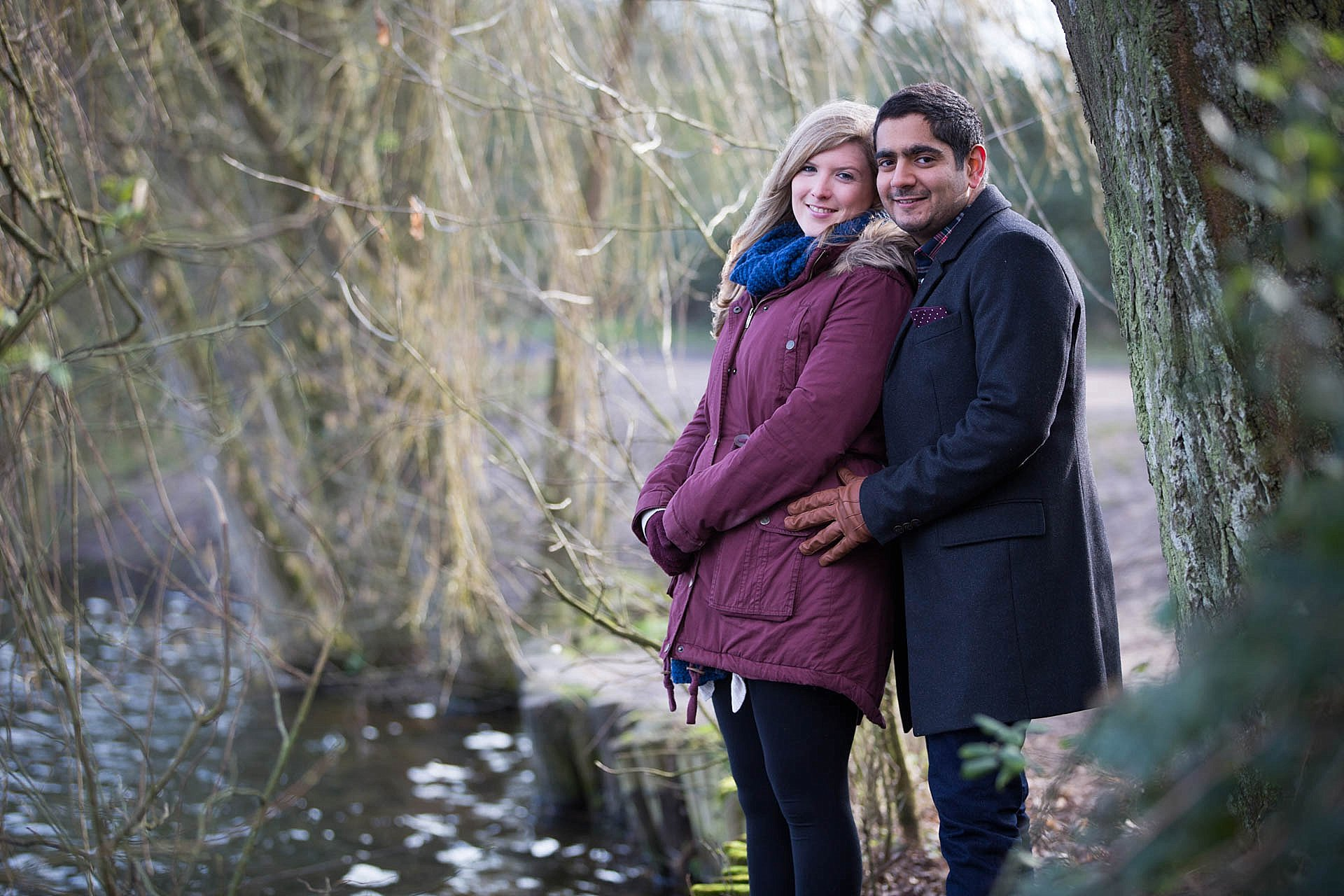 Dinton Pastures engagement shoot
