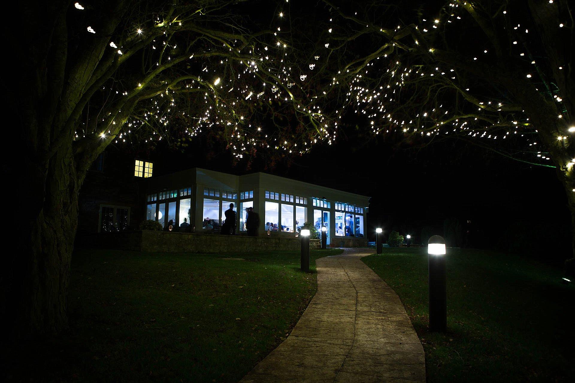 Charingworth after dark