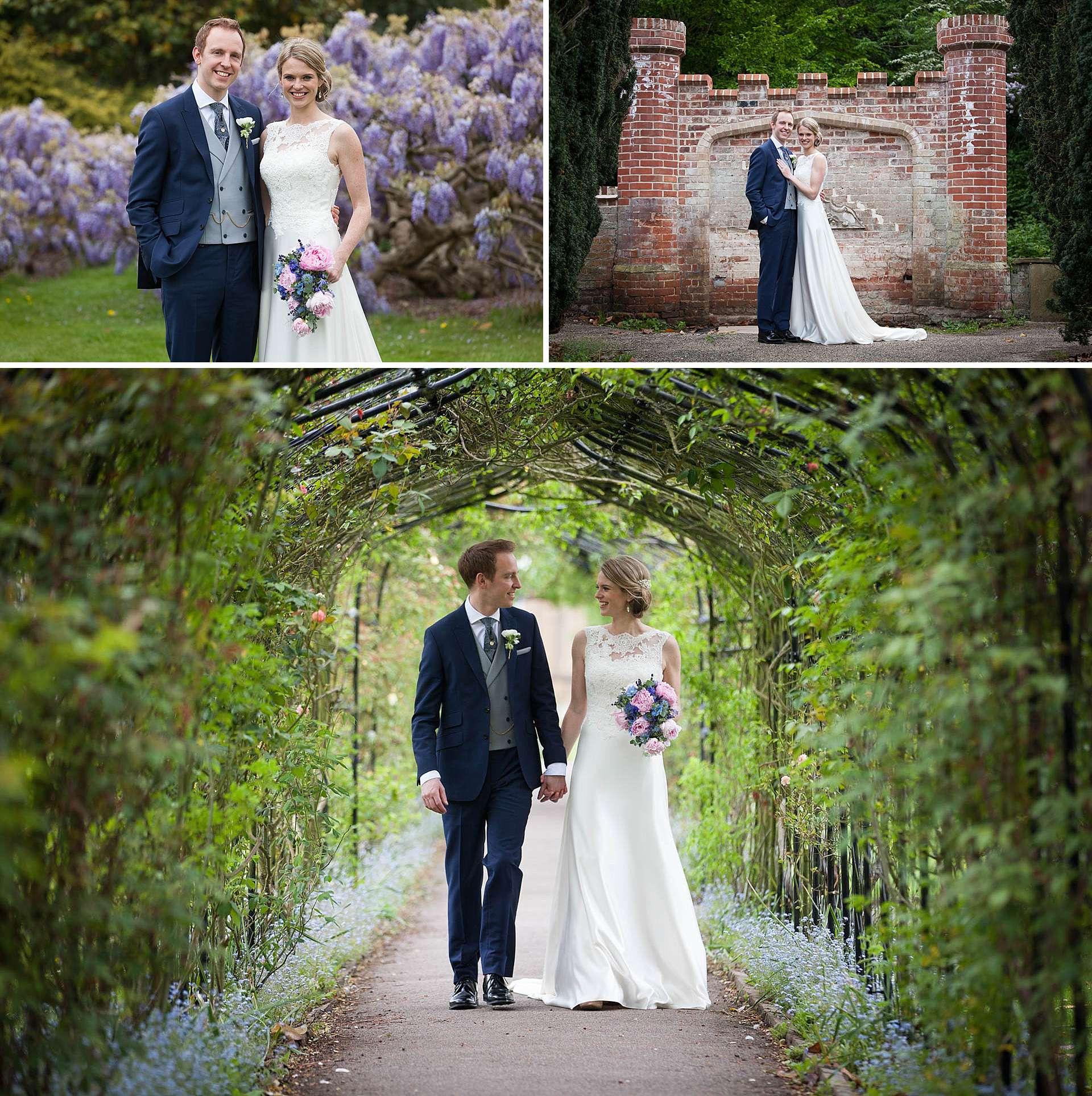 Nonsuch Mansion wedding portraits