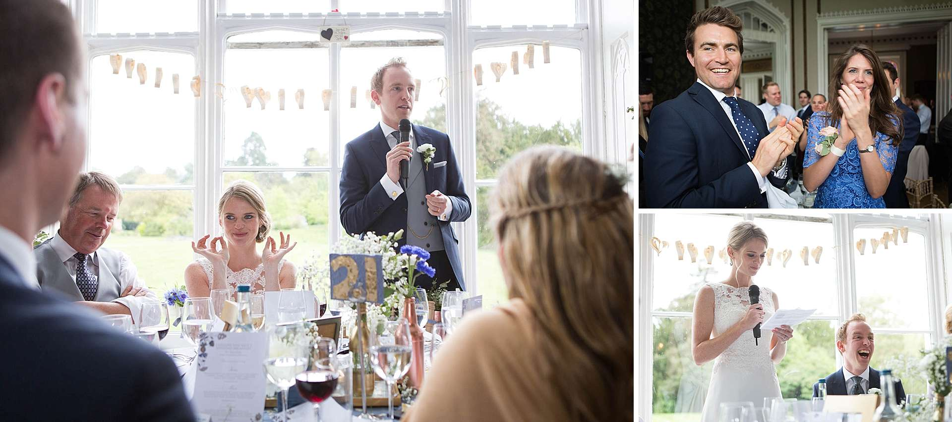 Nonsuch Mansion - the speeches