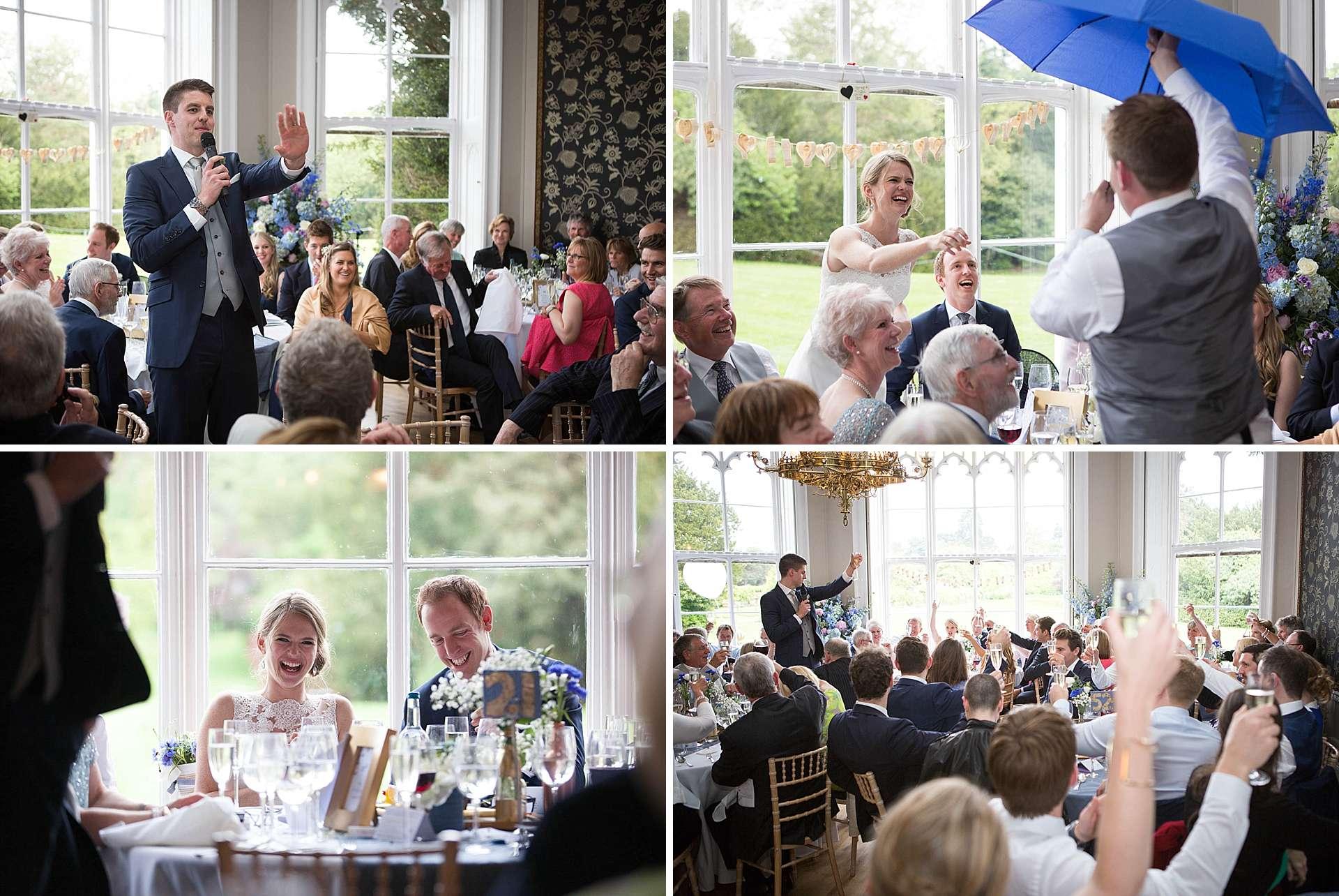 Nonsuch Mansion wedding - the speeches