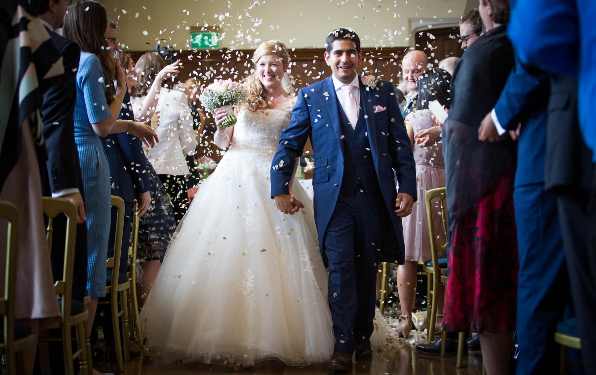 Shiplake College Wedding - Katharine and Rohan