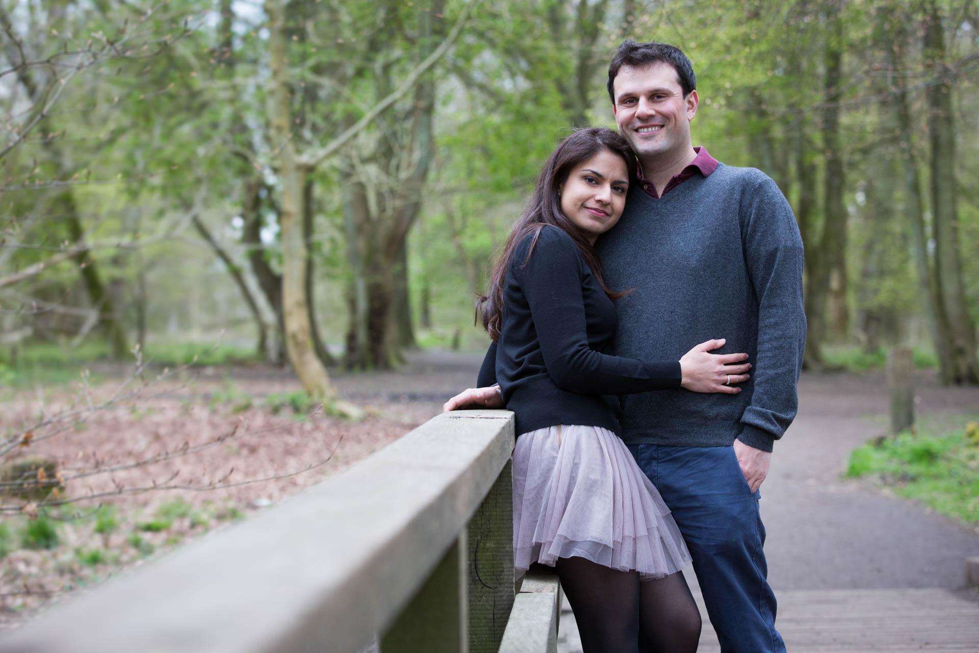 Nimi and Vineet's engagement shoot