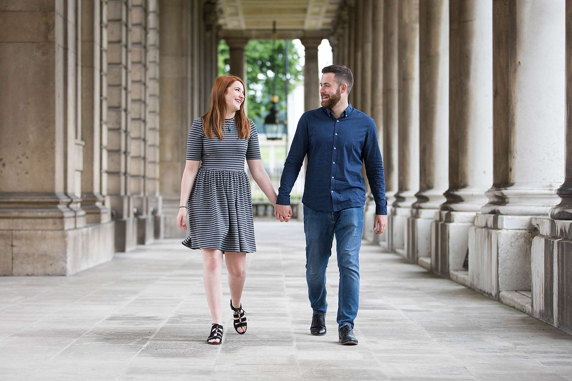 Greenwich Naval College engagement shoot