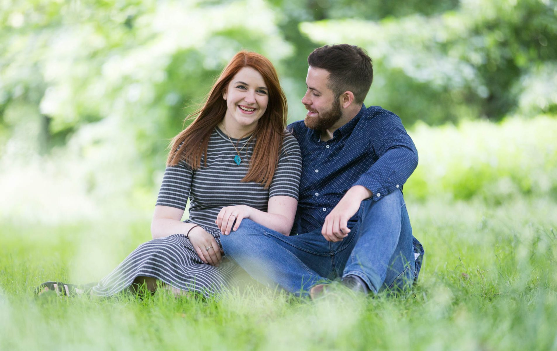 Paige and Michael's Greenwich Engagement Shoot